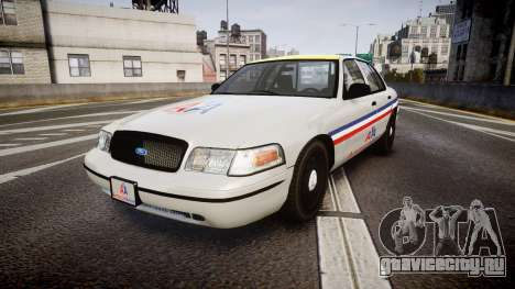Ford Crown Victoria 2007 American Airlines для GTA 4