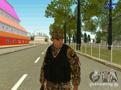 Стрелок ополчения ДНР для GTA San Andreas второй скриншот