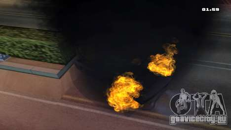 Burning Car для GTA San Andreas четвёртый скриншот