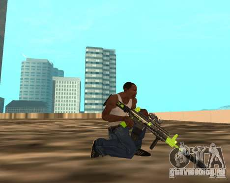 Sharks Weapon Pack для GTA San Andreas