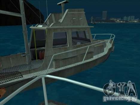 Reefer из GTA 3 для GTA San Andreas вид сзади