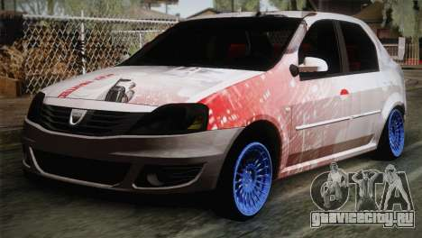 Dacia Logan Most Wanted Edition v1 для GTA San Andreas
