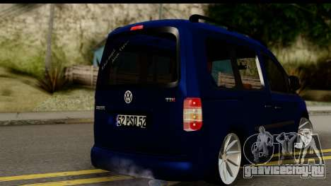 Volkswagen Caddy v1 для GTA San Andreas вид слева