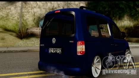 Volkswagen Caddy v1 для GTA San Andreas вид слева