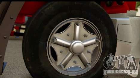 Mack Superliner 6x4 для GTA San Andreas вид сзади слева