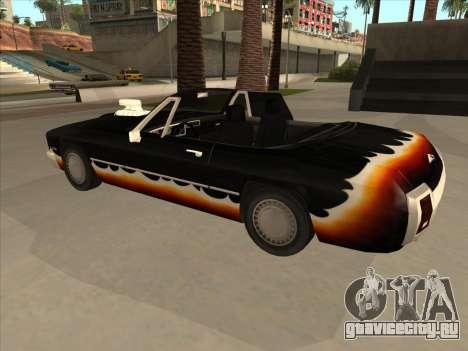 Diablo Stallion из GTA 3 для GTA San Andreas вид сзади
