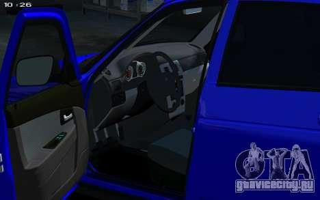 Lada 2172 2012 для GTA 4 вид справа