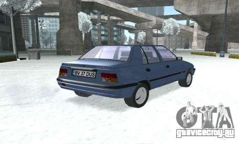 Dacia Super Nova для GTA San Andreas вид слева