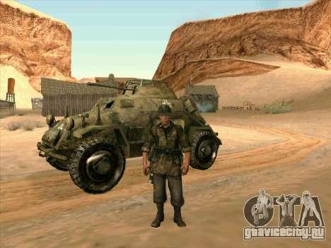 SdKfz.222 для GTA San Andreas