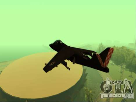 McDonnell Douglas AV-8B Harrier II Beta для GTA San Andreas вид сзади