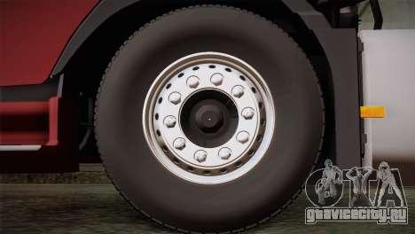 Volvo FH 420 для GTA San Andreas вид сзади слева