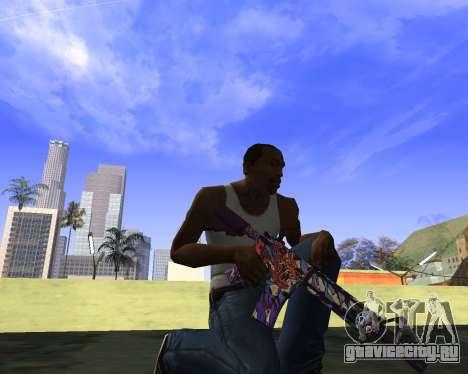 Skins Weapon pack CS:GO для GTA San Andreas пятый скриншот