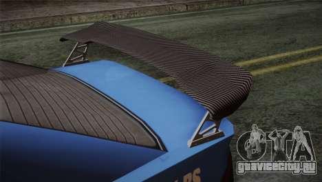GTA 5 Karin Sultan IVF для GTA San Andreas вид сзади