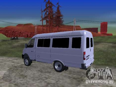 ГАЗ 2705 для GTA San Andreas вид сбоку
