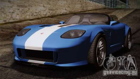 GTA 5 Invetero Coquette v2 для GTA San Andreas