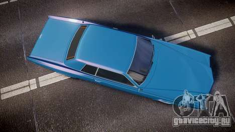 Albany Buccaneer San Andreas Style для GTA 4 вид справа