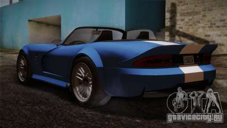 GTA 5 Invetero Coquette v2 для GTA San Andreas вид слева