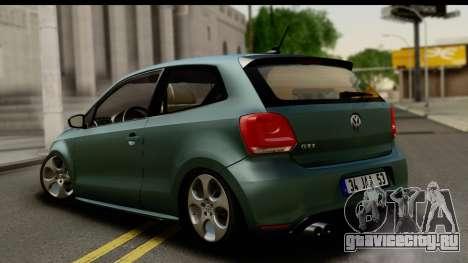 Volkswagen Polo GTI для GTA San Andreas вид слева