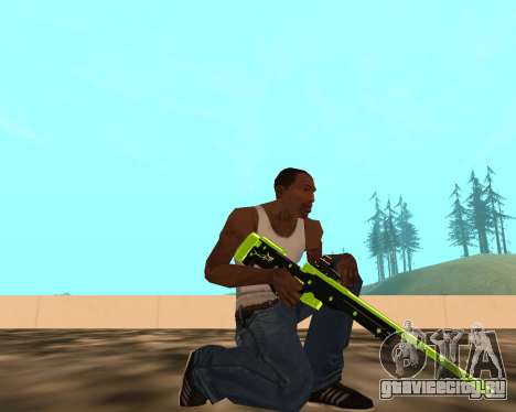 Sharks Weapon Pack для GTA San Andreas второй скриншот