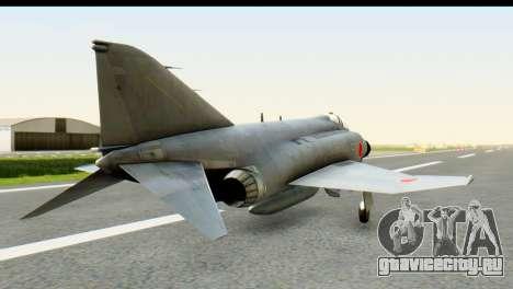 F-4EJ Mitsubishi Heavy Industries для GTA San Andreas вид слева