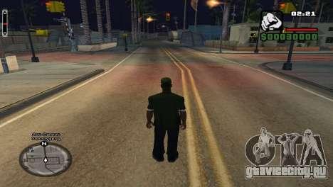 Название улиц над радаром для GTA San Andreas второй скриншот