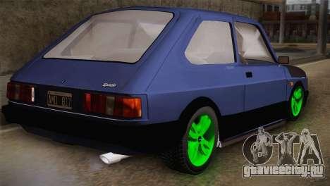 Fiat 147 Tuning для GTA San Andreas вид слева