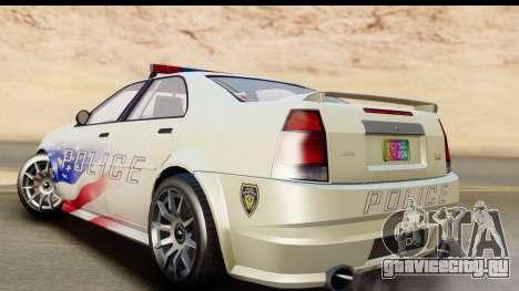 EFLC TBoGT Albany Police Stinger для GTA San Andreas вид слева