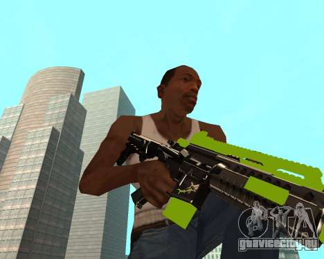Sharks Weapon Pack для GTA San Andreas третий скриншот