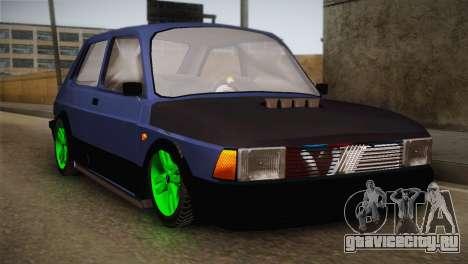Fiat 147 Tuning для GTA San Andreas