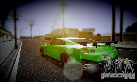 Blacks Med ENB для GTA San Andreas третий скриншот