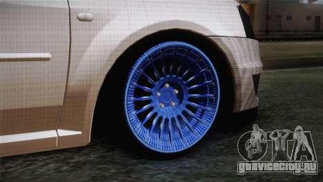 Dacia Logan Most Wanted Edition v3 для GTA San Andreas вид сзади слева