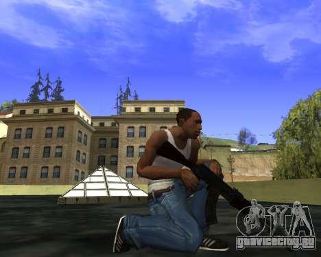 Skins Weapon pack CS:GO для GTA San Andreas десятый скриншот