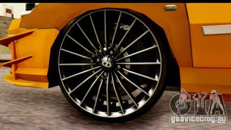 Peugeot 407 Sport Taxi для GTA San Andreas вид справа