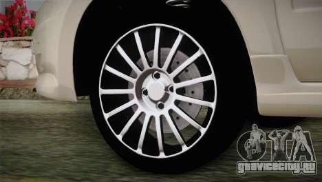 Lada Granta Sport для GTA San Andreas вид сзади слева