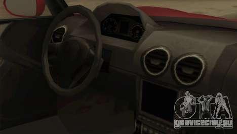 GTA 5 Coil Voltic v2 для GTA San Andreas вид справа