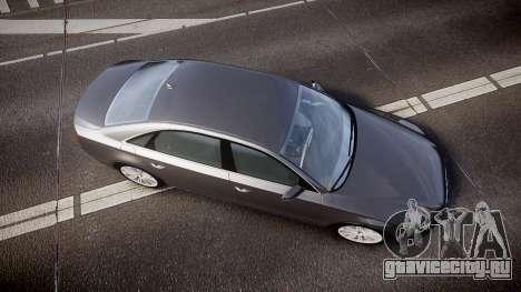 Audi A8 L 4.2 FSI quattro для GTA 4 вид справа