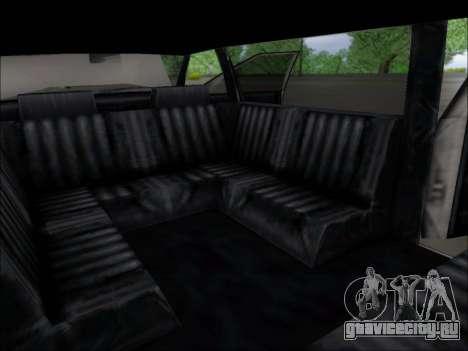 Elegant Limousine для GTA San Andreas вид сзади