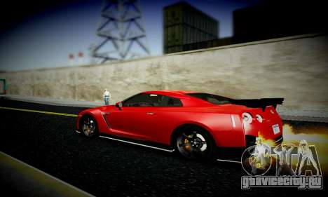 Blacks Med ENB для GTA San Andreas восьмой скриншот