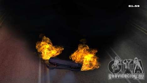 Burning Car для GTA San Andreas пятый скриншот