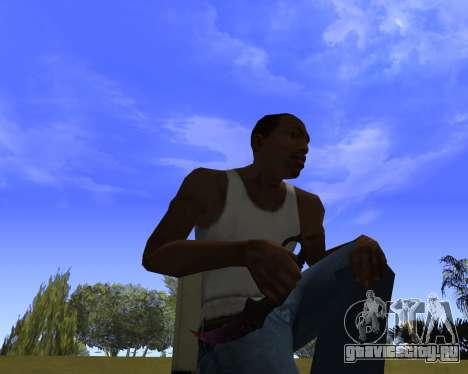 Skins Weapon pack CS:GO для GTA San Andreas третий скриншот