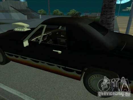 Diablo Stallion из GTA 3 для GTA San Andreas вид справа