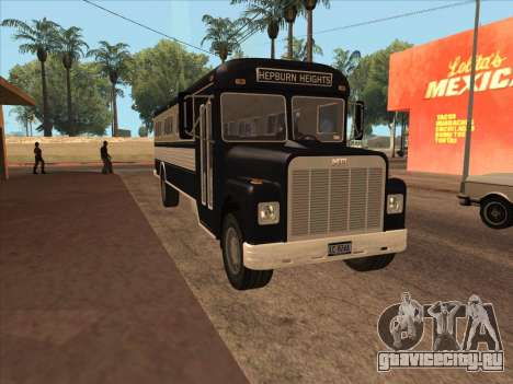 Bus из GTA 3 для GTA San Andreas вид слева