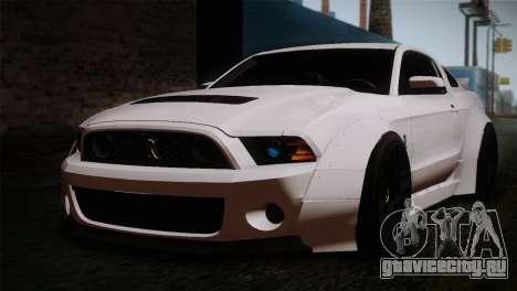 Ford Shelby GT500 RocketBunny SVT Wheels для GTA San Andreas