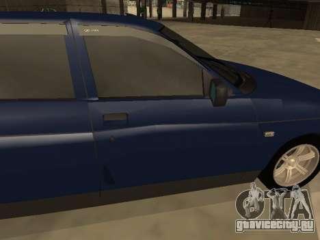 ВАЗ 2110 для GTA San Andreas салон