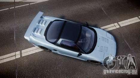 Honda NSX 1998 [EPM] для GTA 4 вид справа