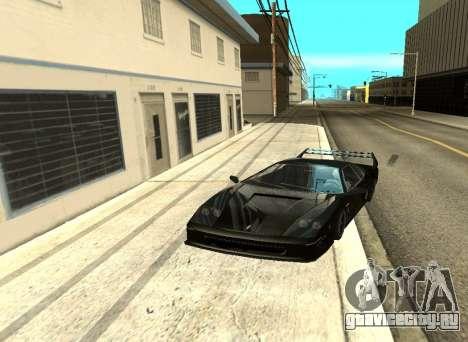 ENB Отражения на авто для GTA San Andreas пятый скриншот