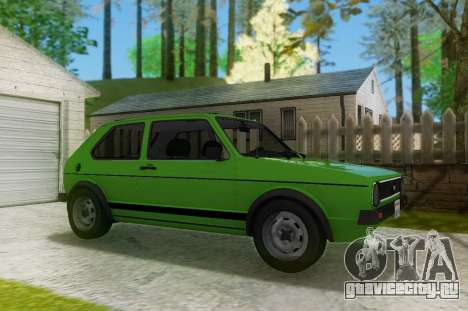 Volkswagen Golf GTD Mk1 для GTA San Andreas