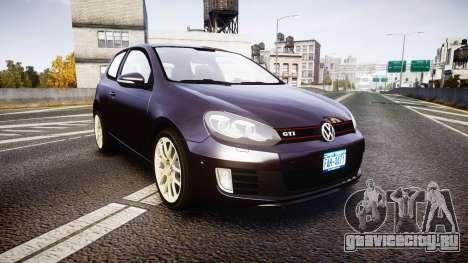 Volkswagen Golf Mk6 GTI rims2 для GTA 4