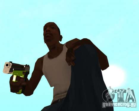 Sharks Weapon Pack для GTA San Andreas восьмой скриншот