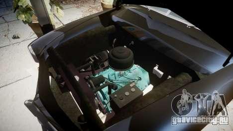Ford Custom Club 1949 v2.1 для GTA 4 вид сзади